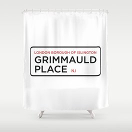 Grimmauld Place Shower Curtain