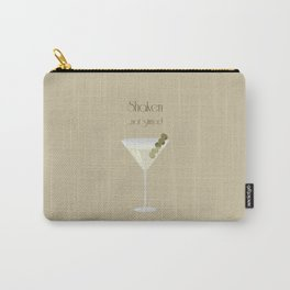 Shaken...Not stirred Carry-All Pouch