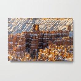 Sunset Point 0010 - Bryce_Canyon_Natonal_Park, Utah Metal Print