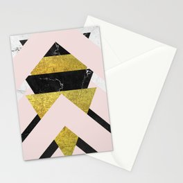 Dramatic Stripping Mixture Stationery Cards