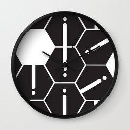 Hexgrid Wall Clock