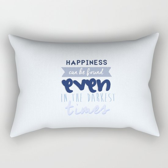 Harry Potter Quote Rectangular Pillow