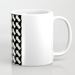 White Arrows Coffee Mug