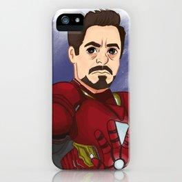 TonyStark/Infinity War iPhone Case
