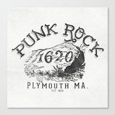 Punk Rock Plymouth Ma. Canvas Print