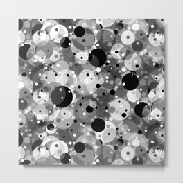 Floating Particles in Space Metal Print