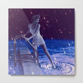 Space Dip Metal Print