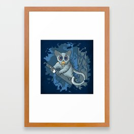 Bush Baby Framed Art Print
