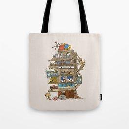 The Dog House Tote Bag