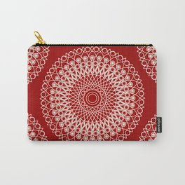 Christmas mandala Carry-All Pouch