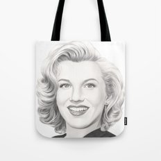 From Norma Jean to Marilyn Tote Bag