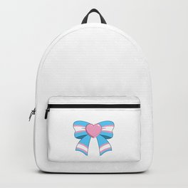 Trans bow Backpack