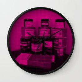 Letterpress Ink Wall Clock