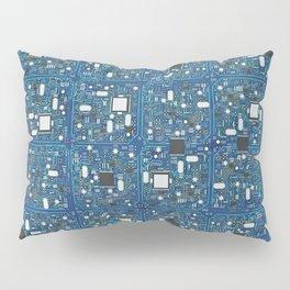 Blue tech Pillow Sham