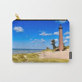 """""""Little Sable Point Lighthouse"""" Carry-All Pouch"""