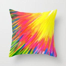 Lightning rays Throw Pillow