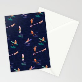 Surf goddes Stationery Cards