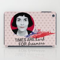 amelie iPad Cases featuring Dreamer Amelie  by MissAtomicBomb