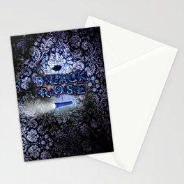 """Black Rose"" Game Title Stationery Cards"