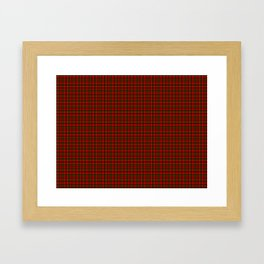 Kerr Tartan Framed Art Print