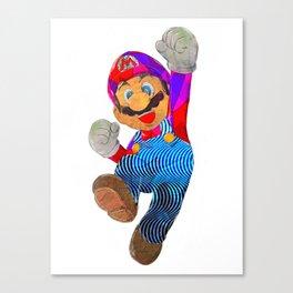 Mario Leinwanddruck