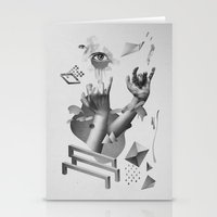 hands Stationery Cards featuring Hands by Oh Yeah Studio