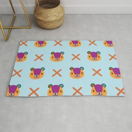 Animal Crossing New Leaf Stitches Teddy Bear Rug