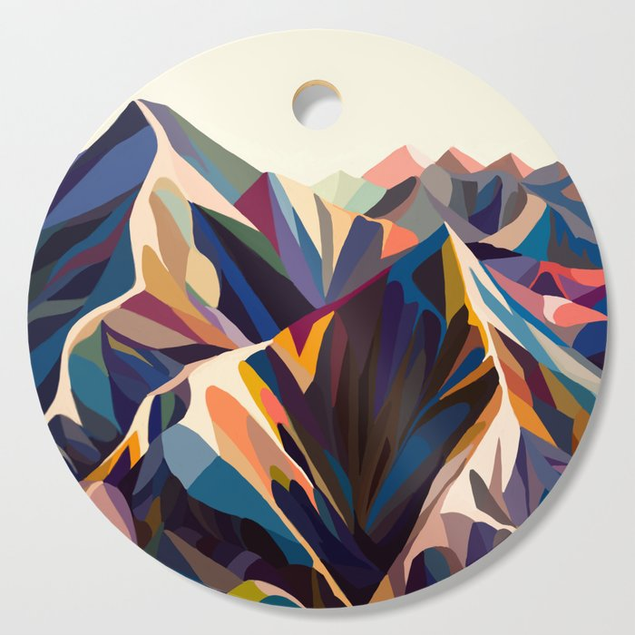 Mountains original Cutting Board