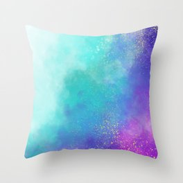 Unicorn Realm Throw Pillow