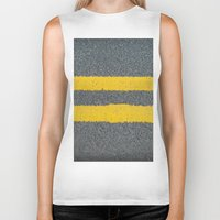 street Biker Tanks featuring Street by Anna Berthier