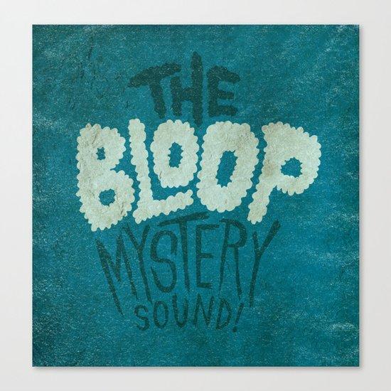 Bloop Canvas Print