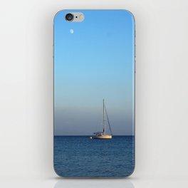 sailing in palamutbükü iPhone Skin