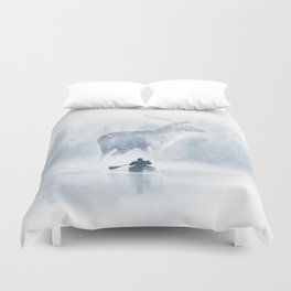 Reality Checked Duvet Cover