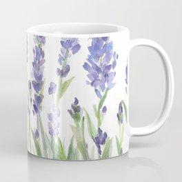 lavender garden watercolor Coffee Mug