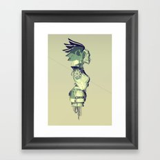 REBELLION fail Framed Art Print