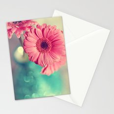 Pink Gerbera Daisy Stationery Cards