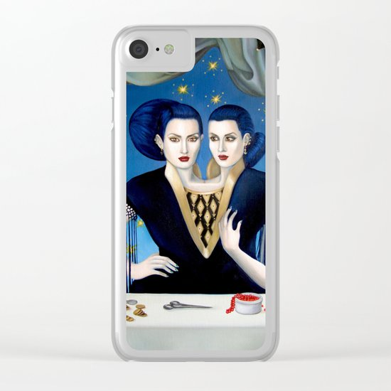 Daughters of Maternal Impression Clear iPhone Case