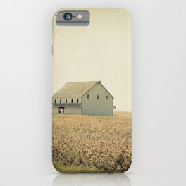 Lost in the prairie iPhone Case