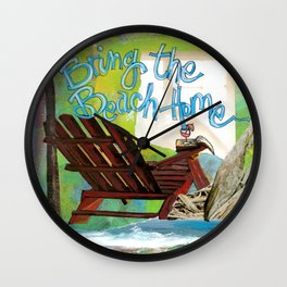 Beach Home Wall Clock