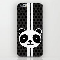 racing iPhone & iPod Skins featuring Racing Panda by XOOXOO