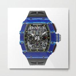 Richard Mille 11-03 Jean Todt NTPT Carbon Chronograph Mens 50MM Watch Metal Print