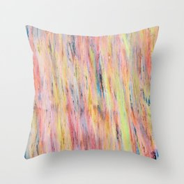 Color gradient and texture 42 Throw Pillow