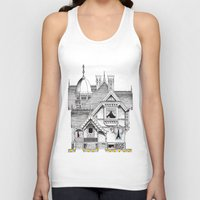 pac man Tank Tops featuring Pac-Man House by Ryan Huddle House of H