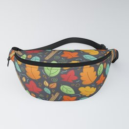 Happy Autumn pattern Fanny Pack