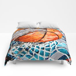 Modern basketball art 3 Comforters