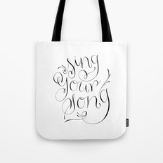 Sing Your Song Tote Bag