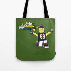 Bears Bricked: Jared Allen Tote Bag