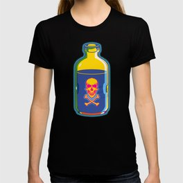psychedelic poison bottle T-shirt