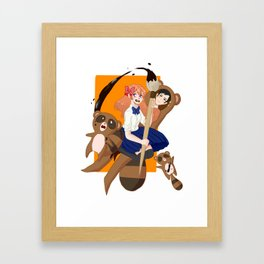 Ta-ta-tanuki?? Framed Art Print