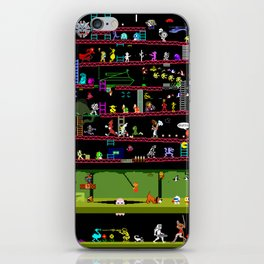 50 Classic Video Games iPhone Skin